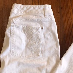 REDUCED! Gorgeous White WH/BM Bootcut Jeans